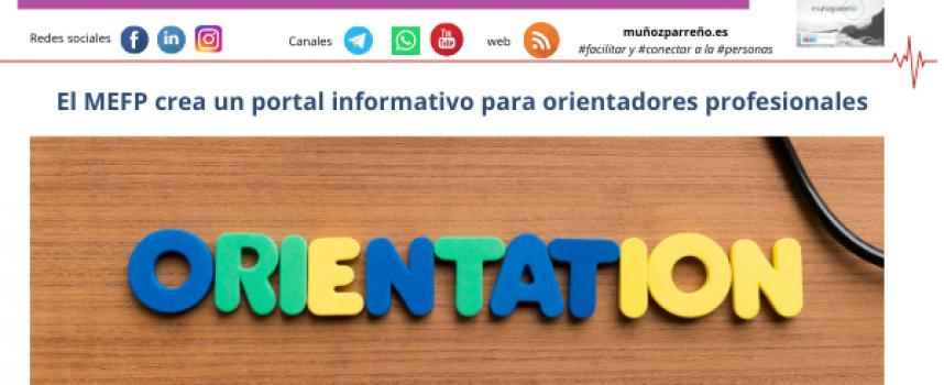 El MEFP crea un portal informativo para orientadores profesionales