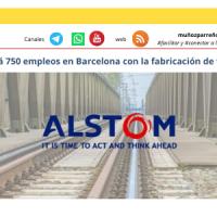 Alstom creará 1500 empleos directos e indirectos en Santa Perpètua