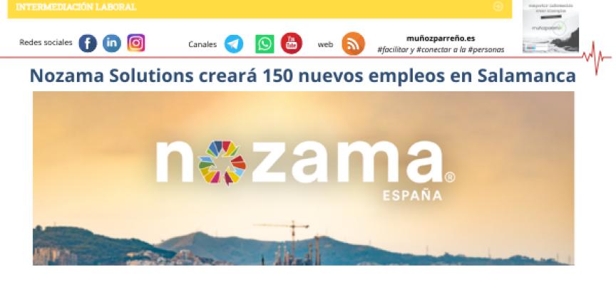 Nozama Solutions creará 150 nuevos empleos en Salamanca