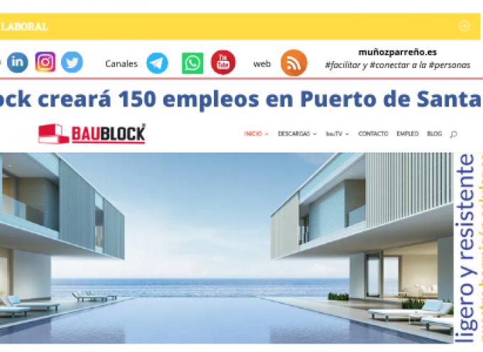 Baublock creará 150 empleos en Puerto de Santa María