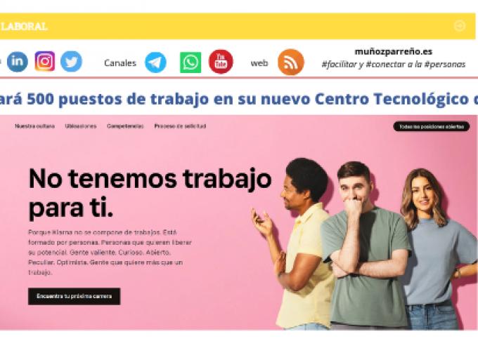 Klarna creará 500 puestos de trabajo en su nuevo Centro Tecnológico de Madrid