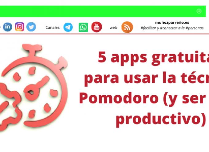 5 apps gratuitas para usar la técnica Pomodoro (y ser más productivo)