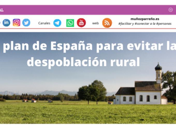 El plan de España para evitar la despoblación rural