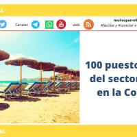 100 puestos de trabajo del sector Hostelería en la Costa del Sol