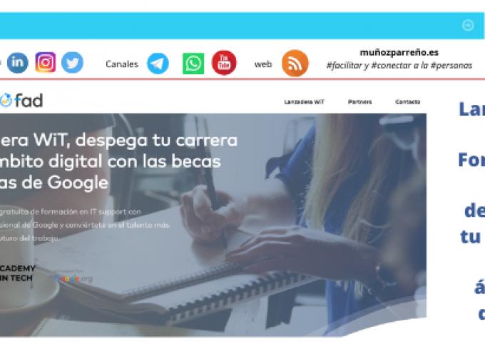 Lanzadera WiT, Formación para despegar tu carrera en el ámbito digital