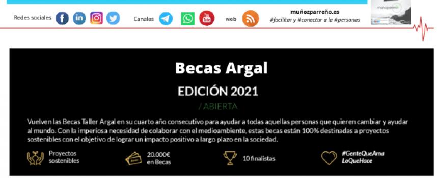 Becas Argal / Edición 2021