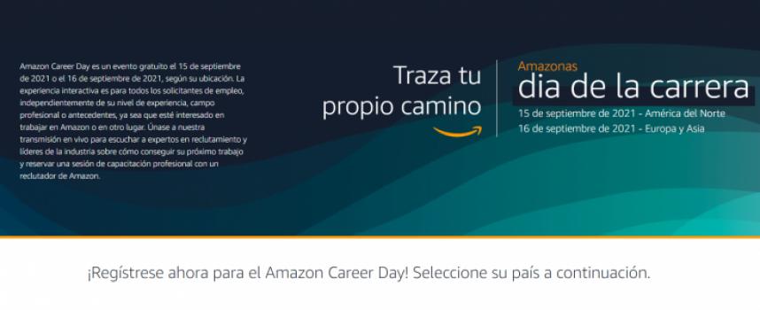 1.000 vacantes disponibles en el Amazon Career Day el día 16 de septiembre