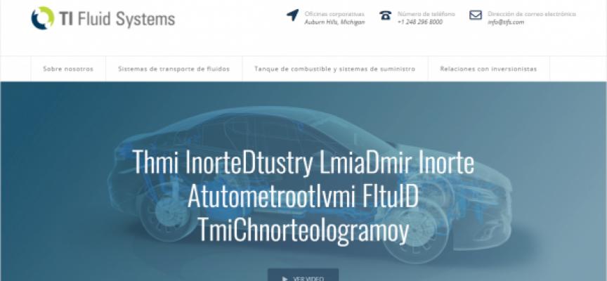 TI Automotive ofrece 70 puestos de trabajo en la fábrica de Zaragoza