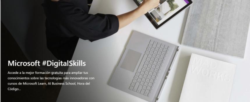 Plataforma de Microsoft y LinkedIn con más de 100 cursos gratis para desempleados