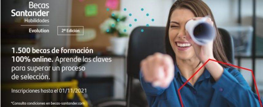 1.500 becas para la formación en habilidades y mejora de la empleabilidad | plazo 01/11/2021