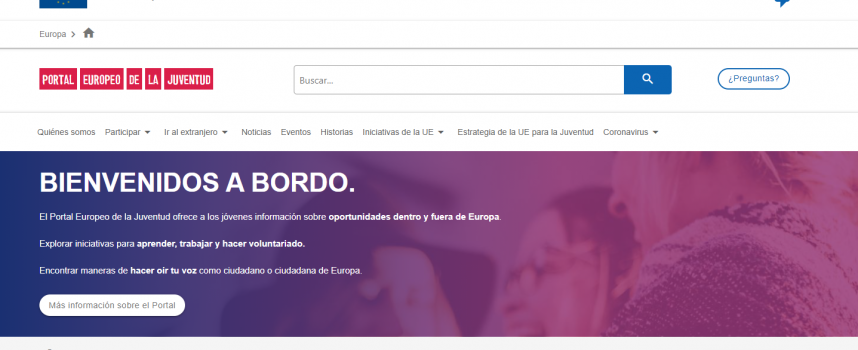 60.000 bonos gratis para que los jóvenes puedan viajar por Europa / Plazo 26/10/2021