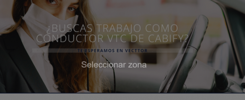 Se ofrece trabajo para 1.500 conductores VTC en Madrid y Barcelona